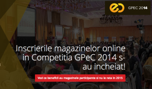 Vizual CP - Peste 100 magazine online la GPeC 2014