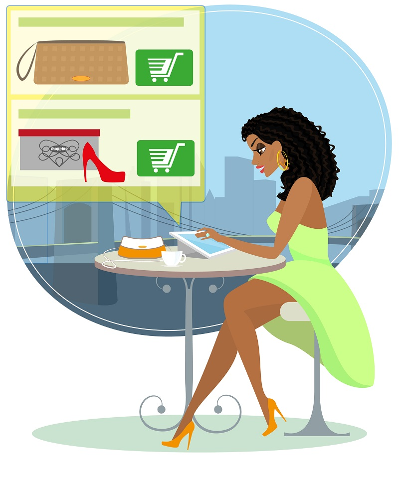 http://www.dreamstime.com/royalty-free-stock-images-pretty-blackhair-woman-sitting-alone-cafe-doing-shopping-online-contains-eps-high-resolution-jpeg-image41693849