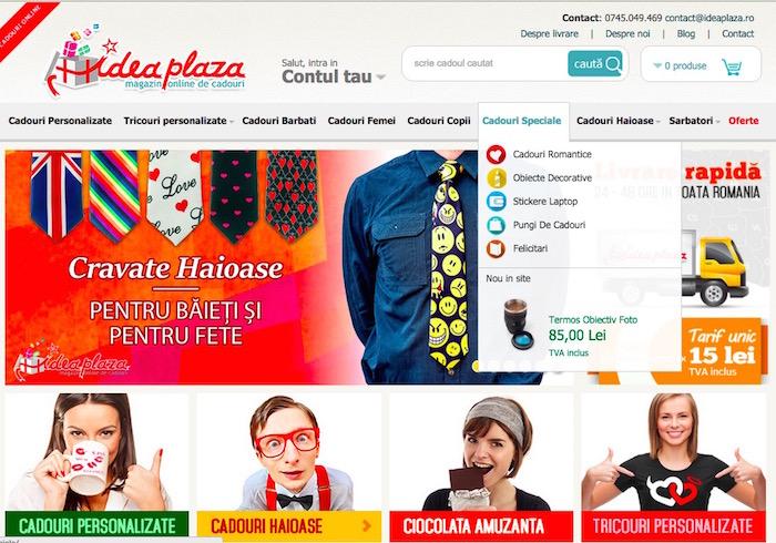 Ideaplaza produs nou in site